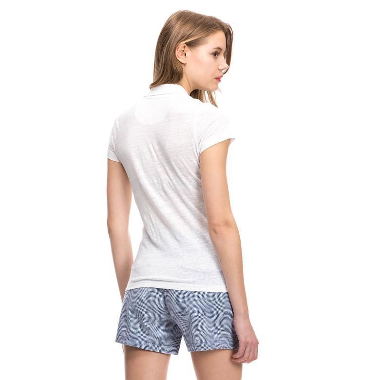 Nautica Kadın Beyaz T-Shirt