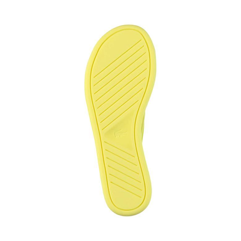 Lacoste Promenade 117 2 Kadın Sarı Terlik