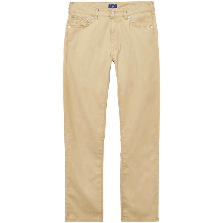Gant Erkek Bej Regular Fit Pantolon