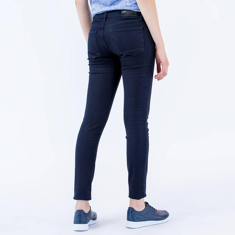 Lacoste Kadın Regular Fit Lacivert Pantolon