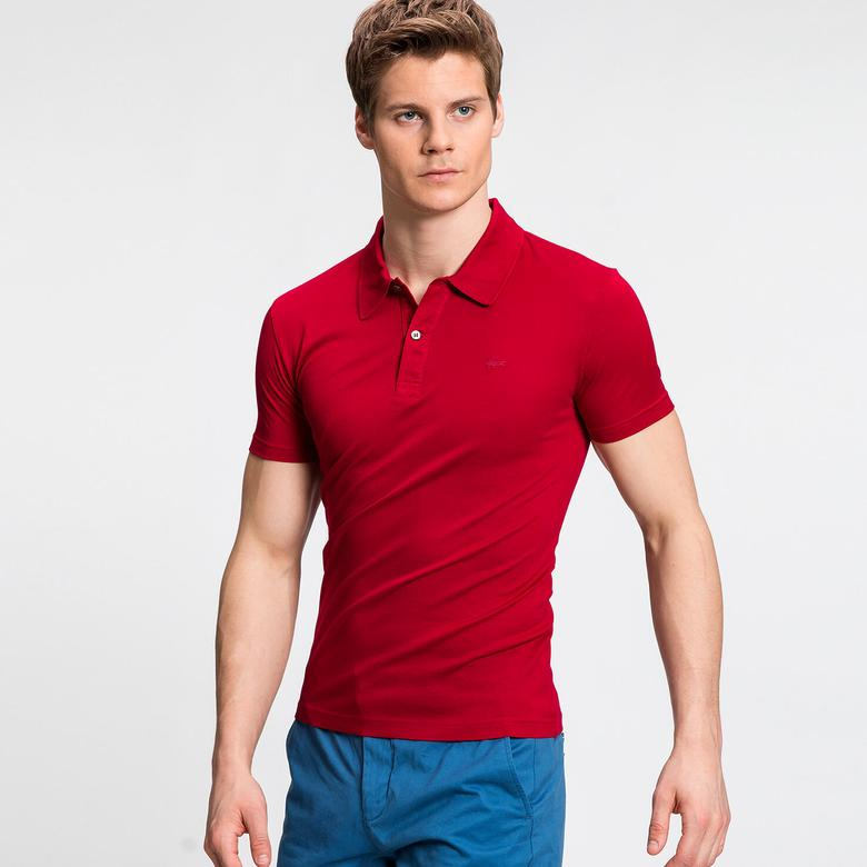 Lacoste Erkek Bordo Regular Fit Kısa Kollu Polo