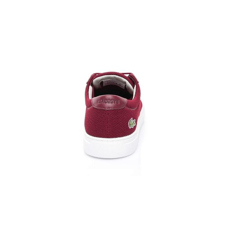 Lacoste L.12.12 117 1 Erkek Bordo Sneaker