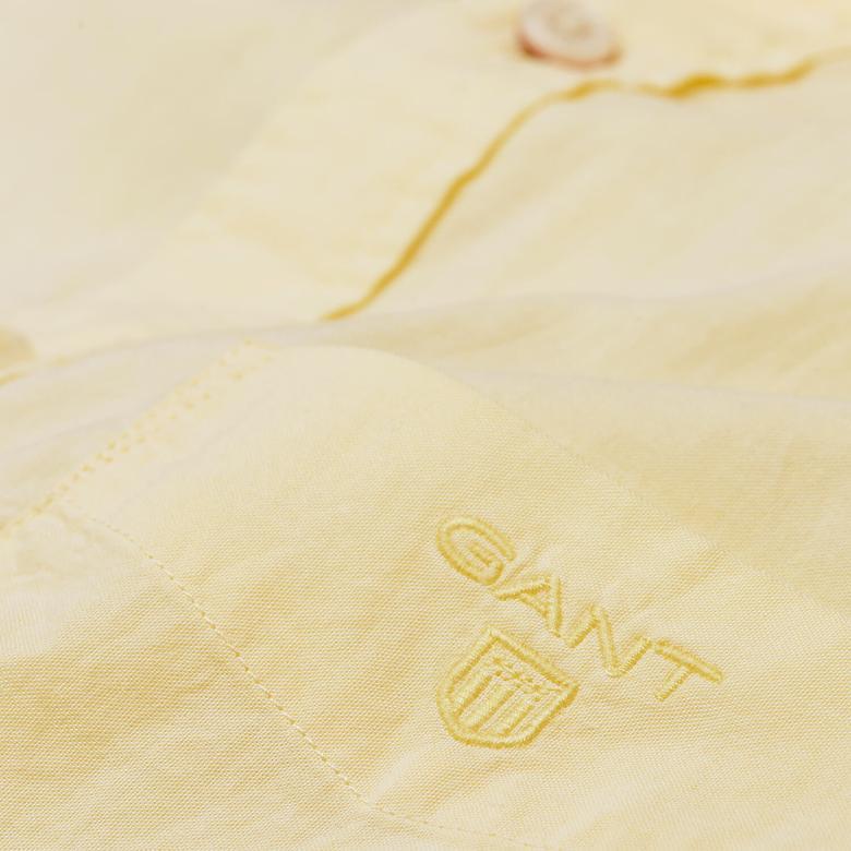 Gant Erkek Sarı Gömlek