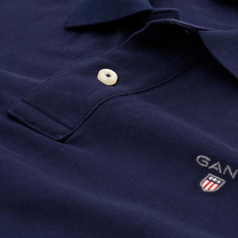Gant Erkek Lacivert Regular Fit Polo