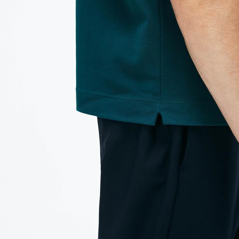 Lacoste Erkek Regular Fit Yeşil Paris Kısa Kollu Polo