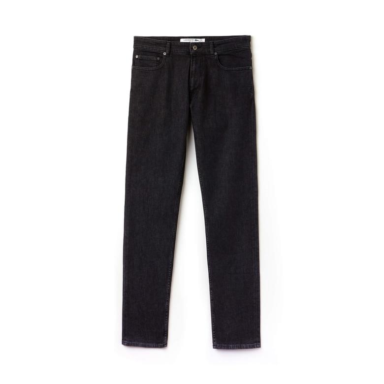Lacoste Erkek Koyu Gri Jean Pantolon
