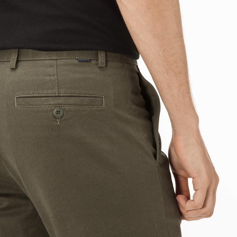 Lacoste Erkek Slim Fit  Yeşil Chino Pantolon