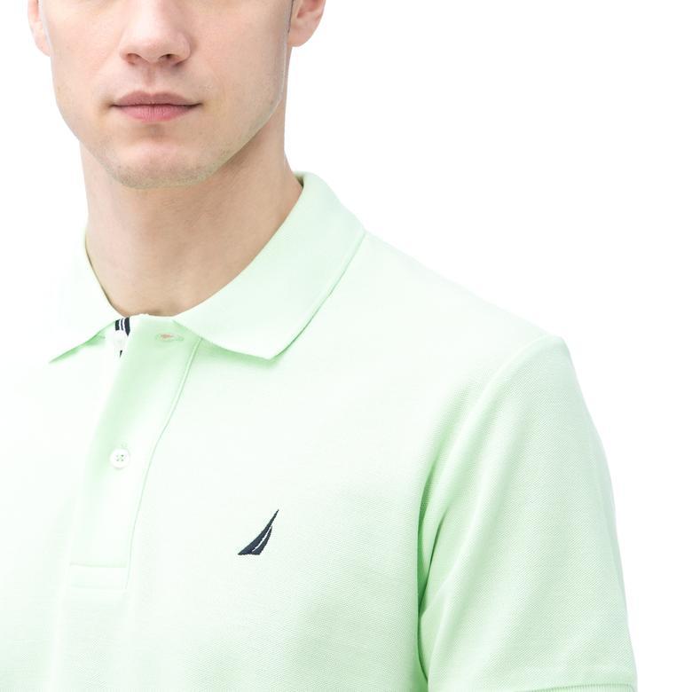 Nautica Erkek Classic Fit Yeşil Polo
