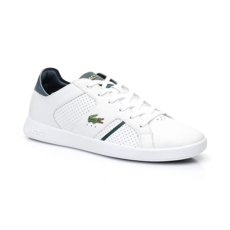 Lacoste Erkek Novas Beyaz Spor Ayakkabı