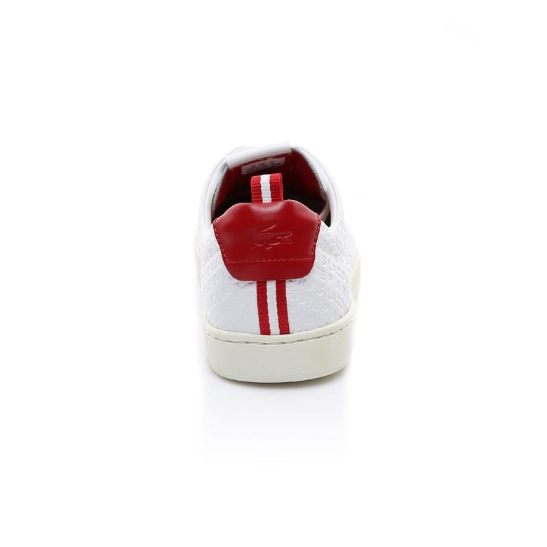 Lacoste Erkek Beyaz - Kırmızı Carnaby Evo 119 9 Us Spor Ayakkabı