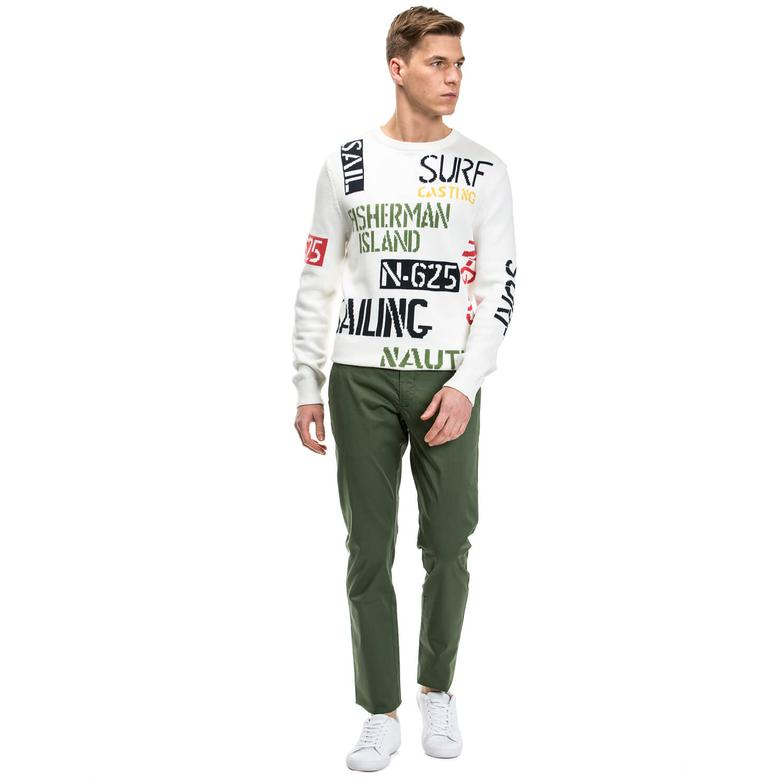 Nautica Erkek Yeşil Chino Pantolon