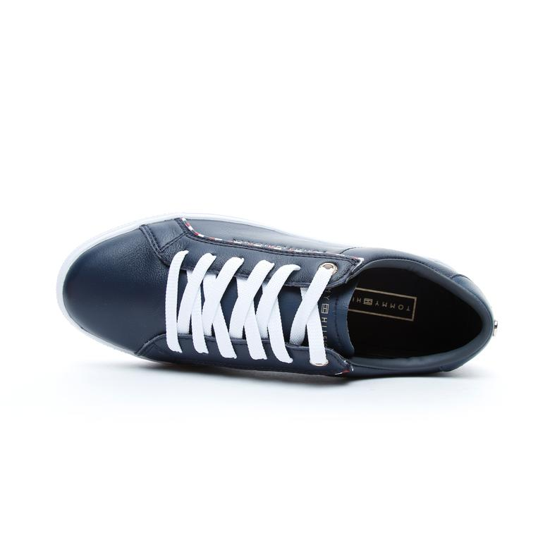Tommy Hilfiger Corporate Detail Kadın Lacivert Spor Ayakkabı