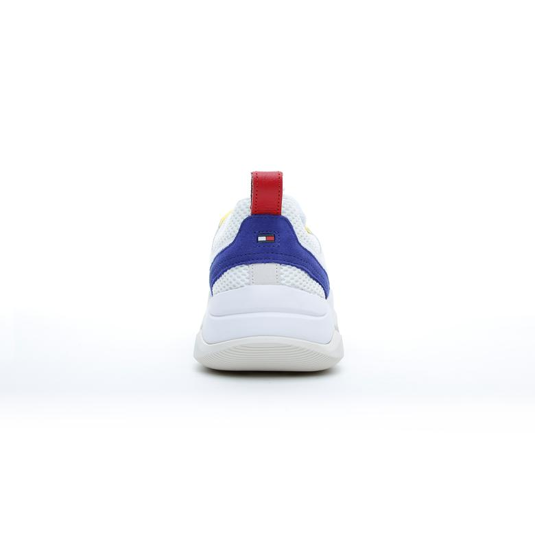 Tommy Hilfiger Chunky Colour-Blocked Erkek Beyaz Spor Ayakkabı