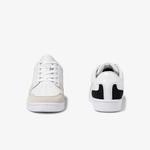 Lacoste Masters Cup 120 4 Sfa Kadın Beyaz - Siyah Deri Sneaker