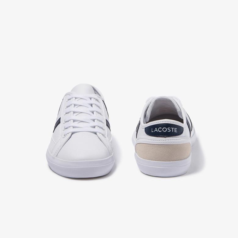Lacoste Sideline 120 5 Cfa Kadın Beyaz Deri Ayakkabı