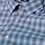 Gant Erkek Mavi Kareli Gömlek