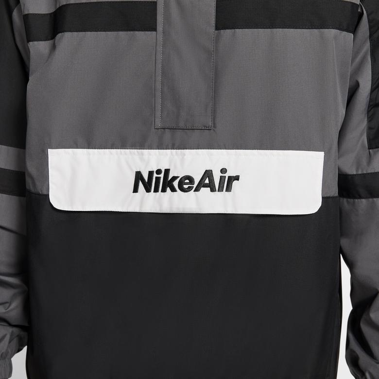 Nike Sportswear Air Erkek Siyah-Gri Ceket