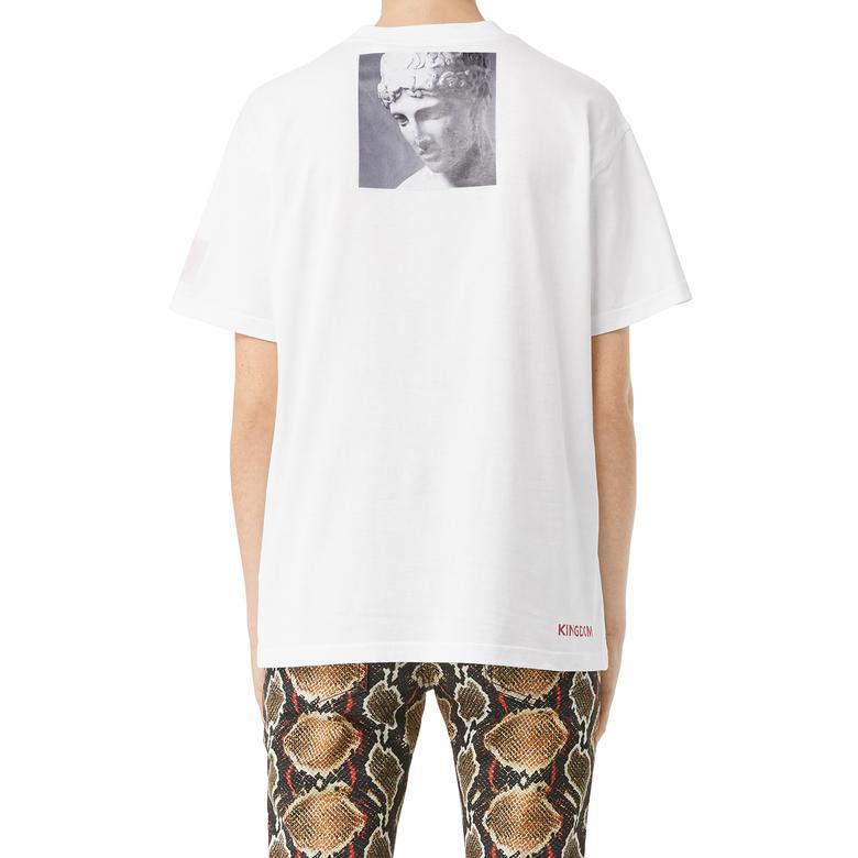 Burberry Kadın Beyaz T-Shirt