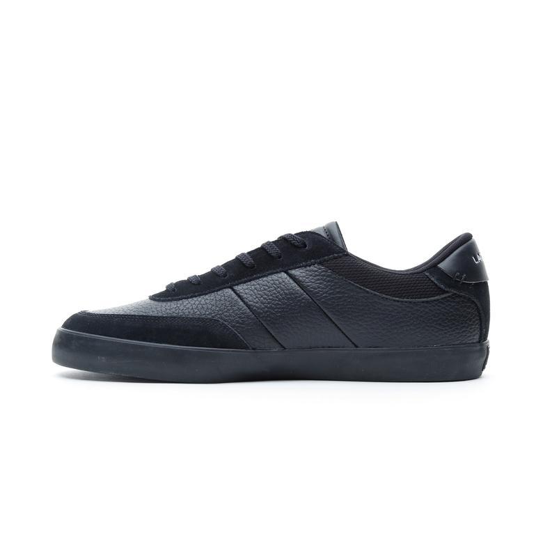 Lacoste Court-Master Erkek Siyah Günlük Ayakkabı